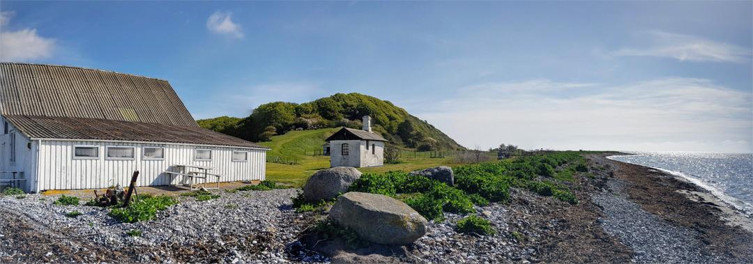 Airbnb gæstehus ved havet på Djursland