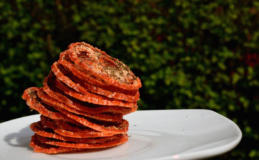 Hjemmelavede, sprøde chips i ovn