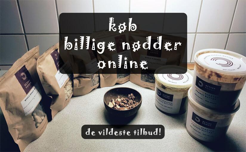 🌰 Køb billige nødder online: Her er DK's VILDESTE tilbud på nødder, frø, kerner & nøddesmør på nettet