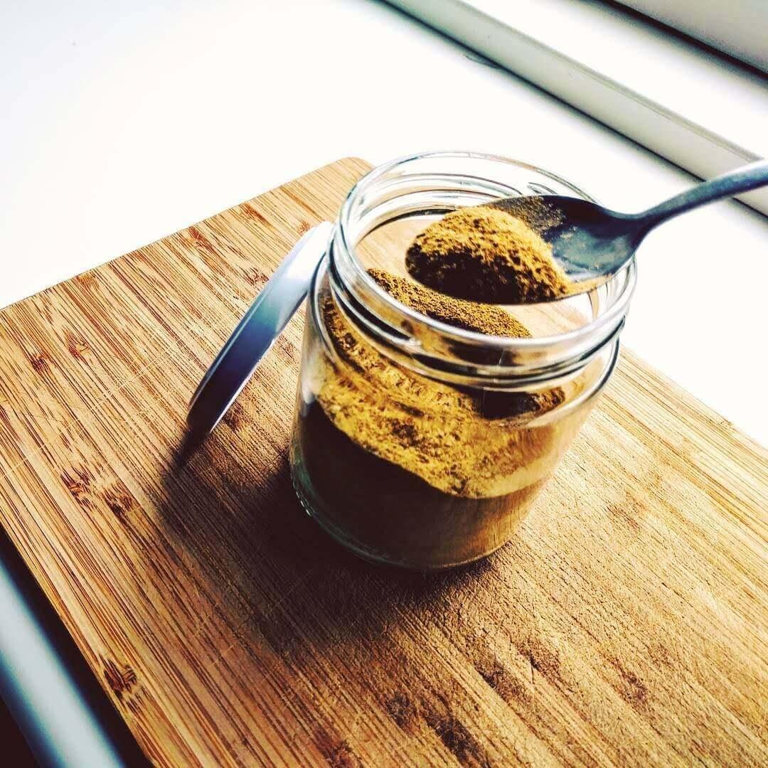 Krydderier lavet i dehydrator