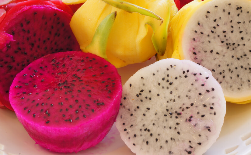 Pitaya / pitahaya / dragon fruit / dragefrugt