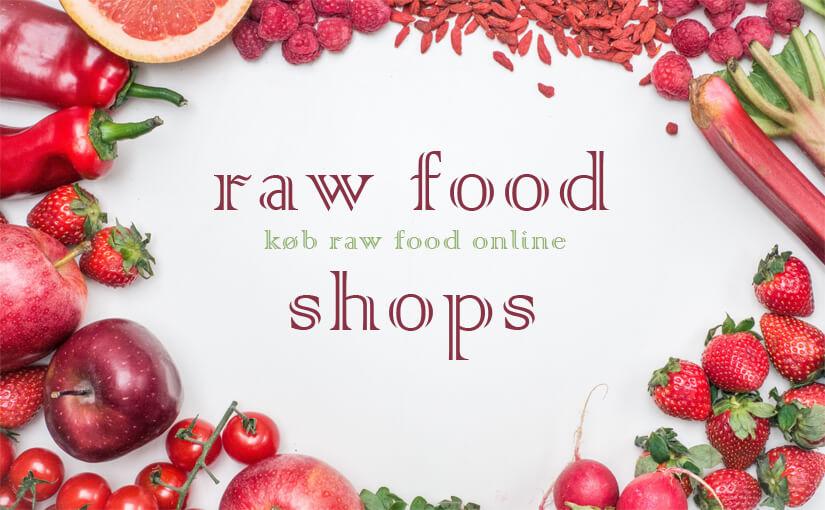 Raw food shop / webshop / butik / online køb rawfood på nettet