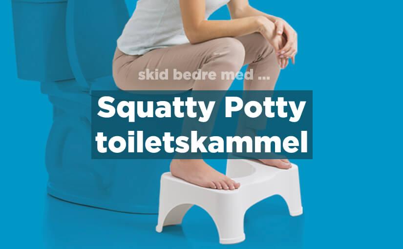 💩 Squatty Potty-toiletskammel mod forstoppelse & hæmorider