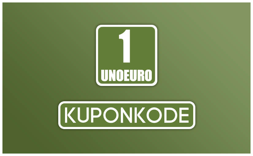 🥇 UnoEuro-kuponkode for 2018 & hjælp til indløsning af rabat →